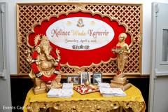 indian wedding programs,outdoor indian wedding decor