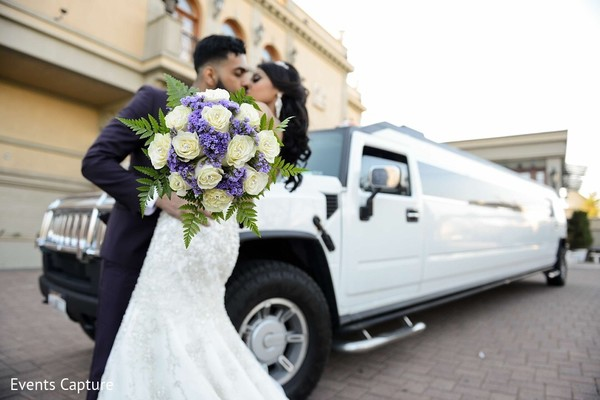 indian wedding transportation,indian bridal bouquet,hummer limo