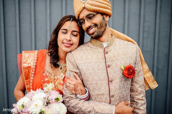 bridal tikka,indian bride makeup,outdoor photography