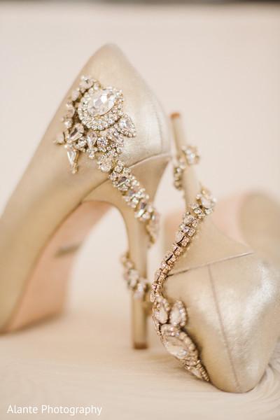 Beautiful bridal heels