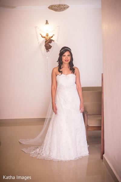 Lovely maharani in her wedding dress