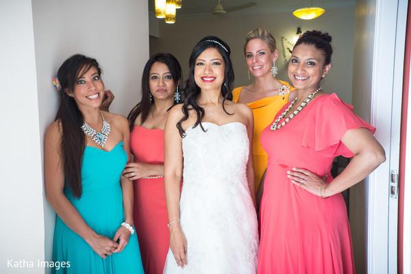 Maharani with bridesmaids