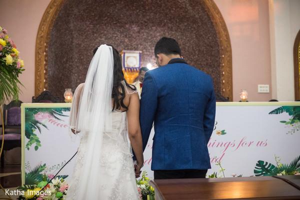 Let the wedding ceremony begin
