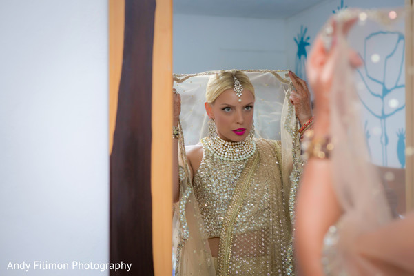 bride fashion,indian bride getting ready,indian bride makeup