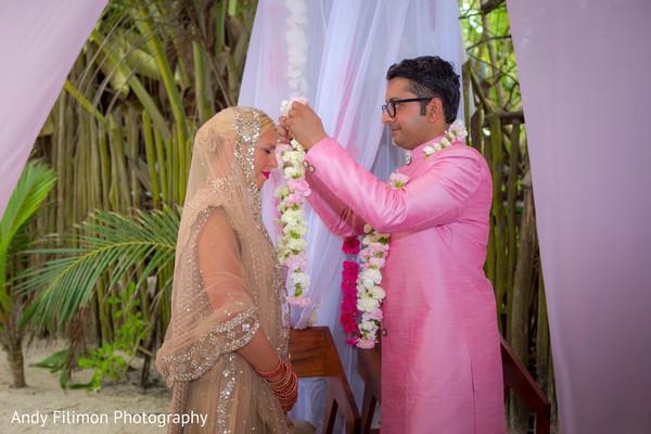 indian bride,indian destination wedding,indian bide and groom
