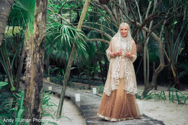 bride fashion,indian bride getting ready,indian ceremony fashion