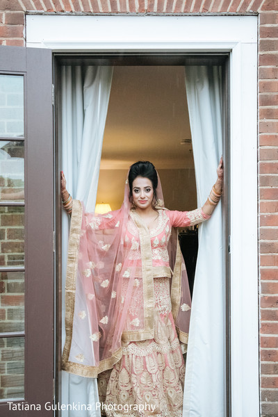 indian bride,indian bridal fashions,indian bride getting ready,indian wedding portrait