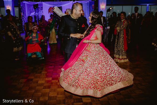 indian bride,indian wedding reception,dj and entertainment