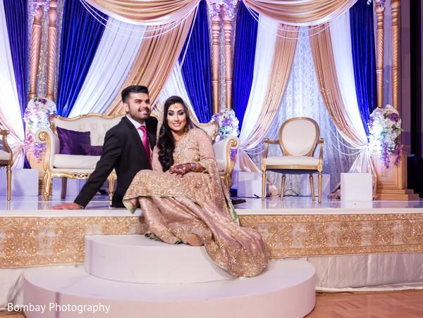 indian wedding reception,bride portrait,indian wedding photography