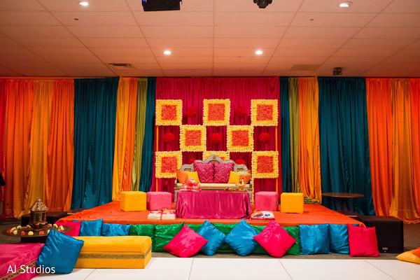 sangeet stage,indian sangeet