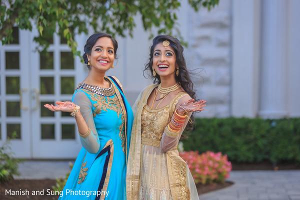 Gorgeous turquoise sari