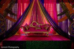 indian pre-wedding celebrations,sangeet decoration,stage