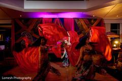 indian pre-wedding celebrations,sangeet decoration,indian wedding performance,bollywood performers