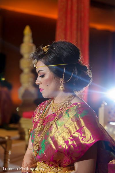 Enchanting south indian bride.