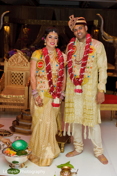 d05a1ea98a South indian couple in gorgeous yellow matching outfits. | Photo 99043