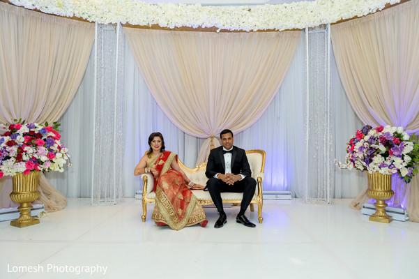 Wonderful reception stage.