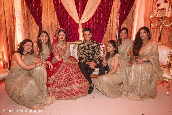 indian bridesmaids' fashion,indian bride ceremony fashion,indian groom sherwani