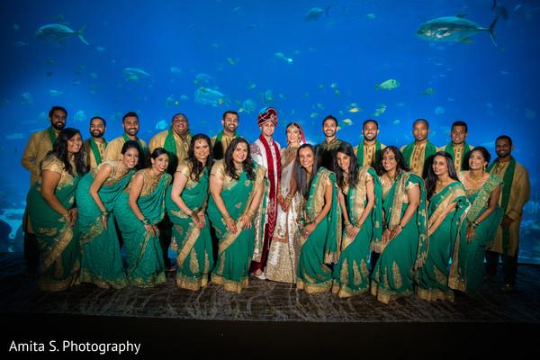 indian bridesmaids,indian groomsmen