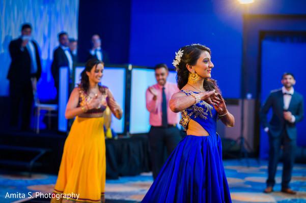 indian fusion wedding reception,choreography,indian wedding performance