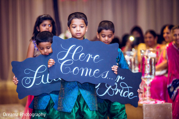 indian bridal party,indian wedding