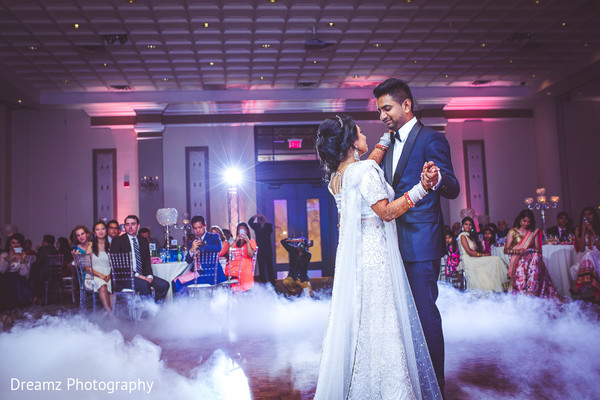 indian bride and groom first dance,indian bridal fashions,indian groom fashion