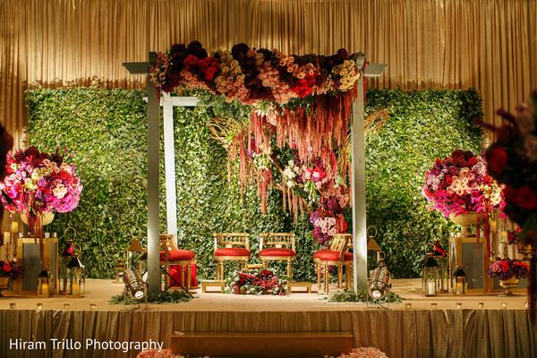 backdrop,floral backdrop,indian weddings
