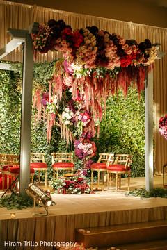 indian wedding mandap,flower mandap