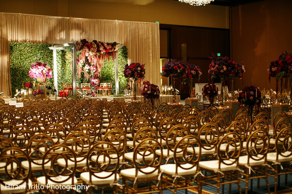 Indian wedding floral and decor ideas