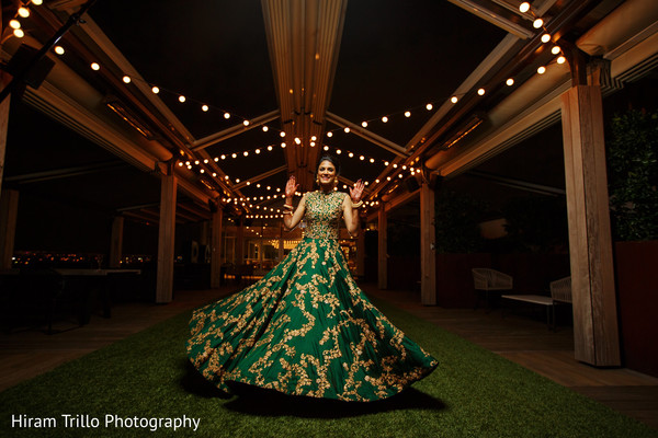Graceful indian bride . in Dallas, TX Indian Wedding by Hiram Trillo Art Photography