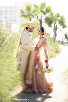 indian wedding outfits,indian bridal bouquet,bridal tikka