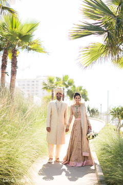 indian groom,indian bride,outdoor photography