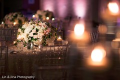 floral centerpieces,lightning,indian wedding gallery