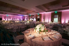 floral centerpieces,lightning,indian wedding planning and design