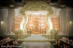indian wedding man dap,golden mandap,indian wedding floral and decor