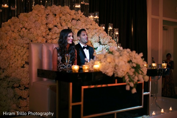 indian wedding reception,indian wedding couple