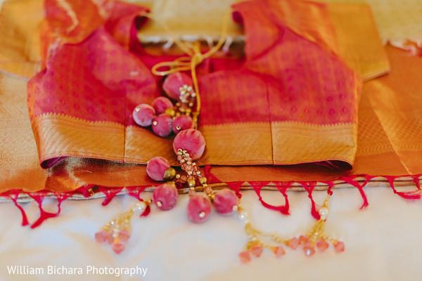 Bridal sari blouse