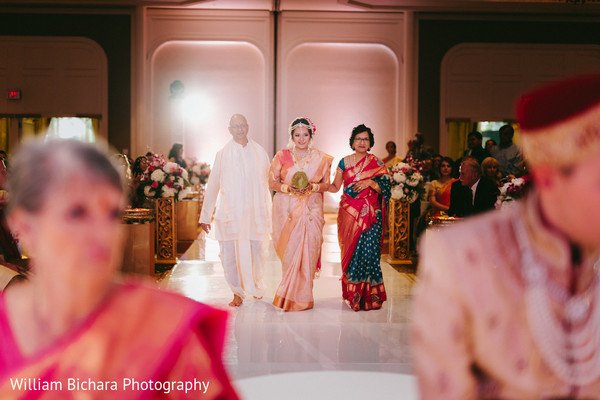 indian fusion wedding,indian fusion wedding ceremony,indian wedding ceremony,aisle,bride aisle,bridal procession