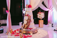 Cake at reception