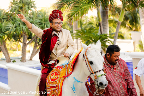 indian wedding baraat,white horse,indian groom,indian pre-wedding celebrations